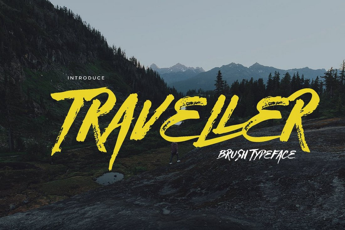 Traveller – Brush Typeface