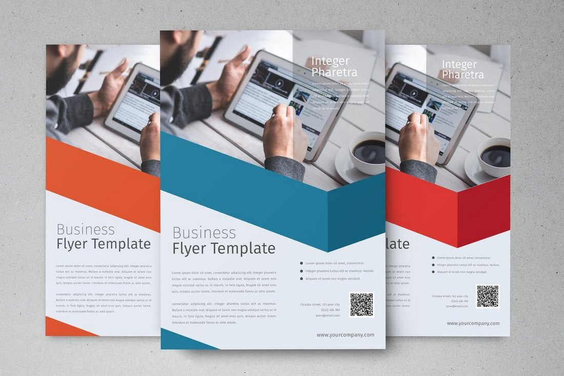 Elegant Business Flyer Template