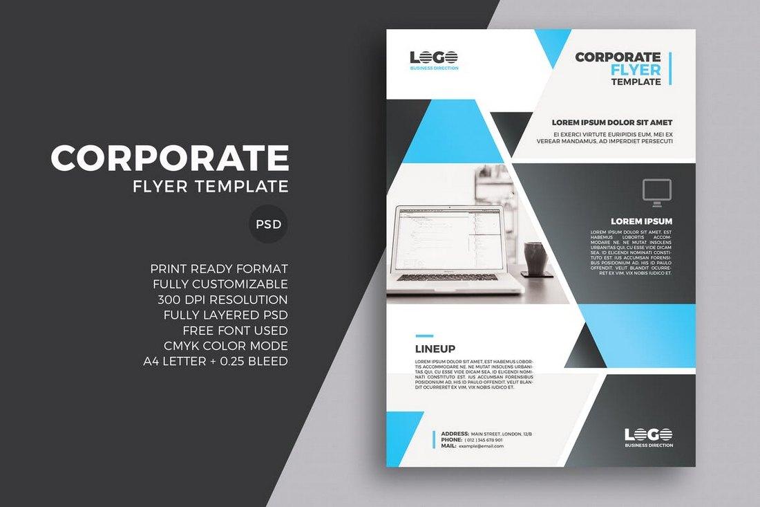 商业传单模板 Word和PSD