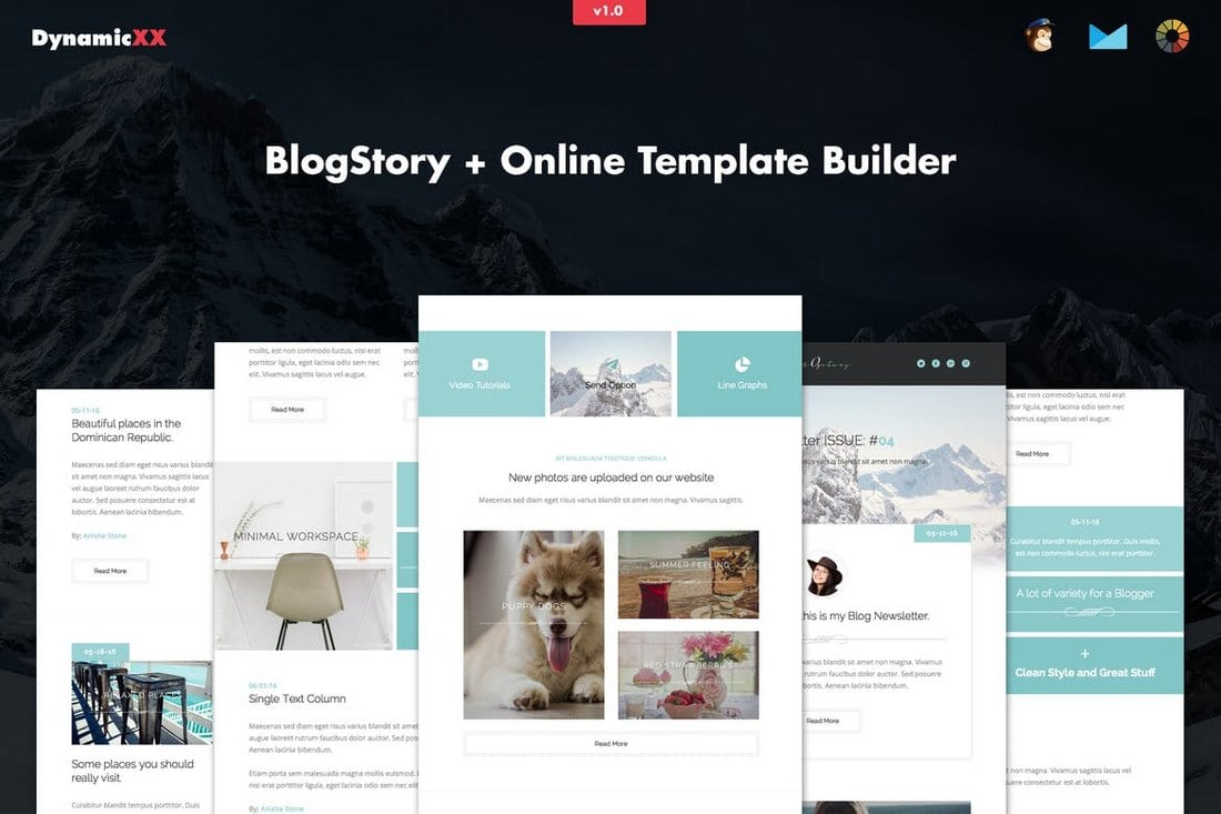 BlogStory – Responsive Blogger Email Template