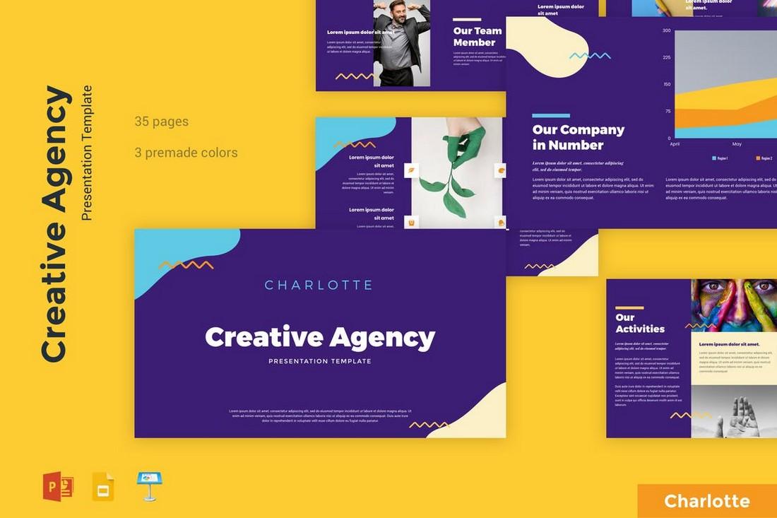 Charlotte – Creative Agency Keynote Template