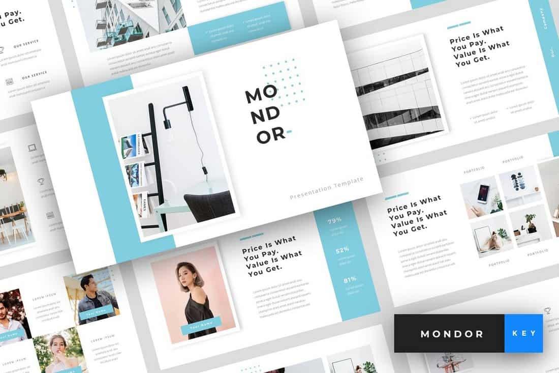 Mondor – Corporate Keynote Template