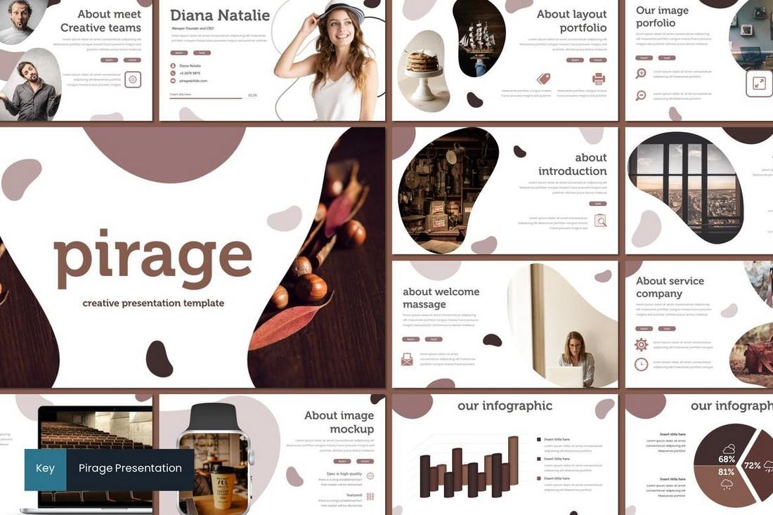 Pirage – Modern Keynote Template