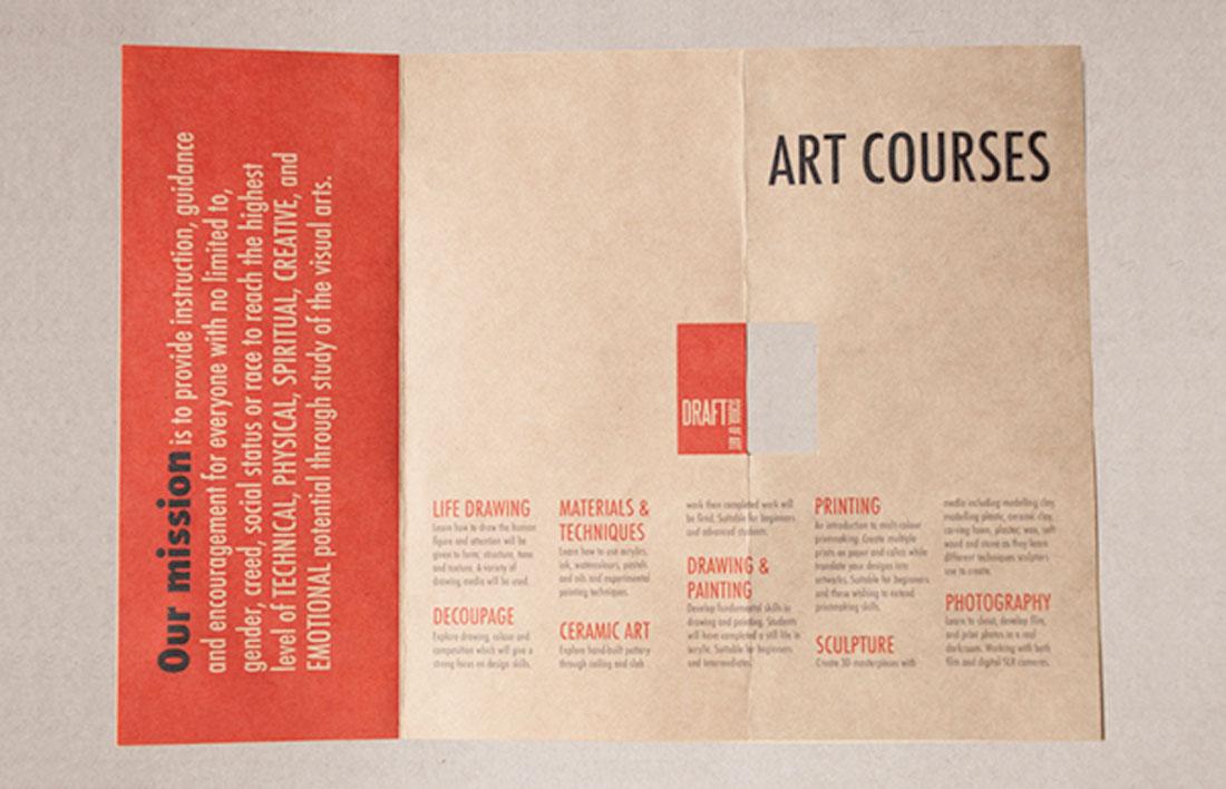Typography-Driven Brochure Design Ideas