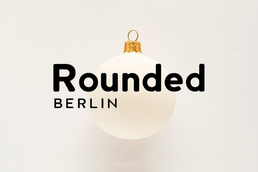 BERLIN Rounded – Sans Serif Font