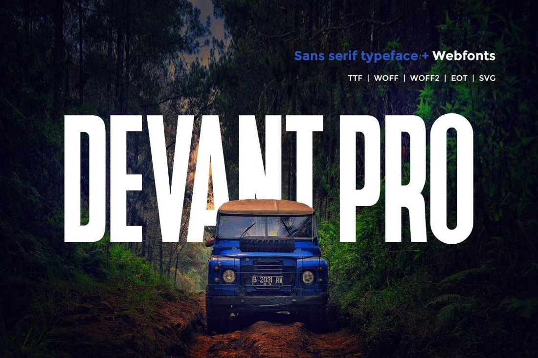 Devant Pro – Modern Business Font