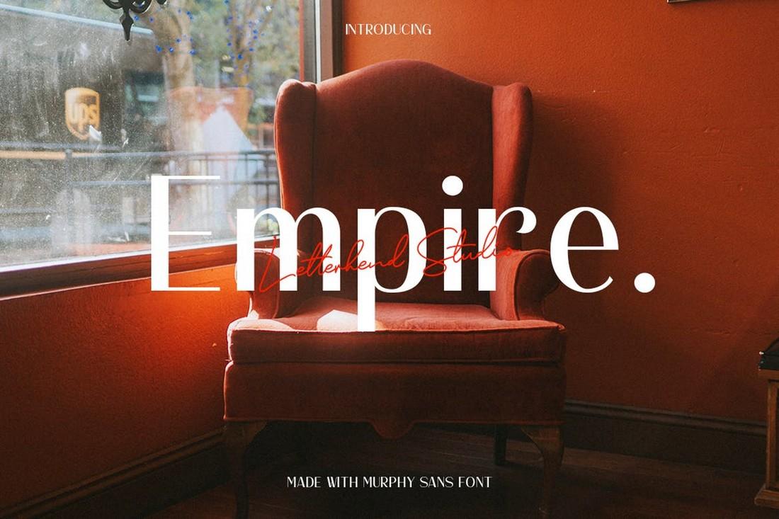Murphy Sans – Elegant Business Font