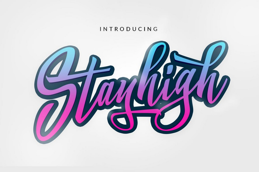 Stay High – Stylish Urban T-Shirt Font